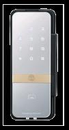 RFID Rim Smart Lock for Glass Doors