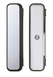 Double Glass Door Strike Plate