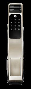 Push and Pull Biometric Smart Lock